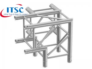 mobile lighting truss corner block