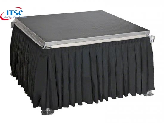 Small portable stage