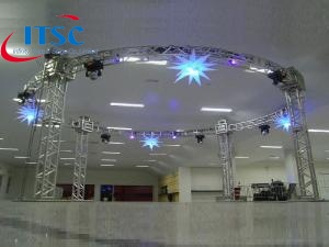 7m Dia Round Stage Roof  -ITSC Truss