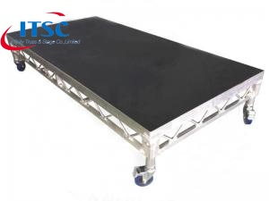 portable fold up stage